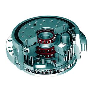 Mesa giratória industrial