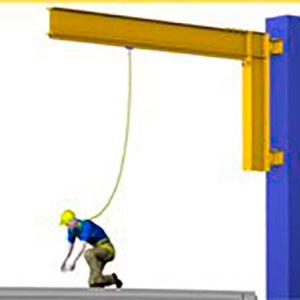 Proteção contra quedas de altura